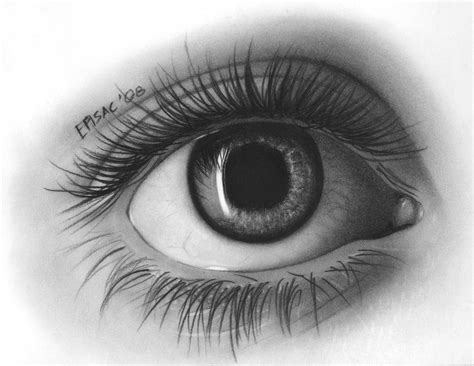 A Drawing Of An Eye by Crackdesign July 2012