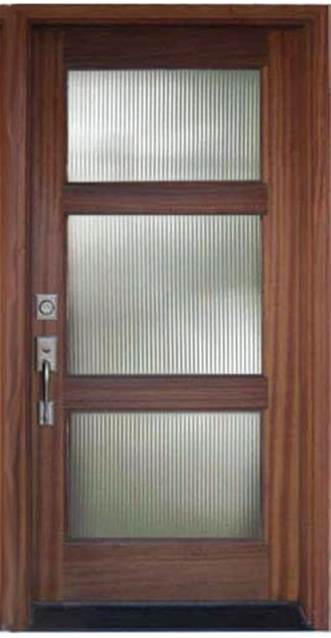 Reeded Glass Door Modern Entry Doors Wood And Glass Door Reeded Glass Door