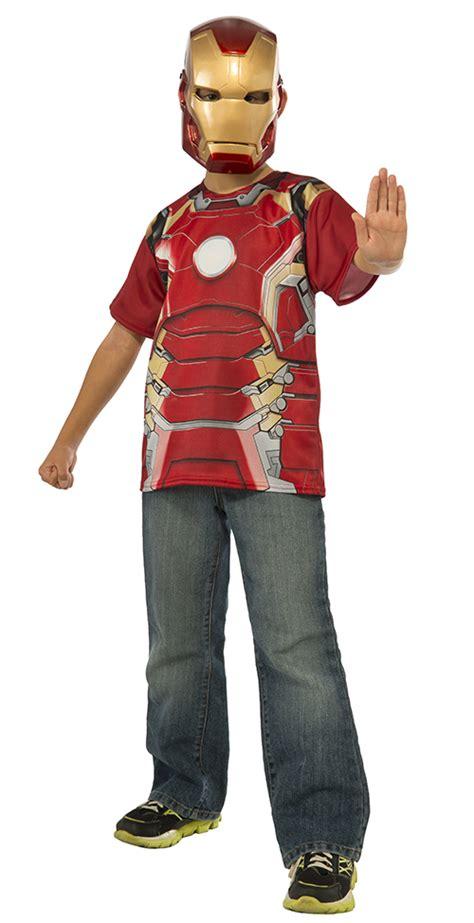 iron man boys shirt boys costume kit tv book film