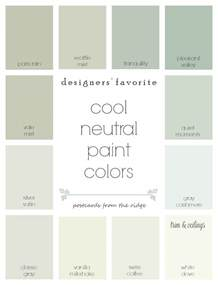 what is a neutral color designers favorite cool neutral paint colors postcards
