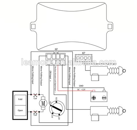 chevy rear view mirror wiring diagram rear view