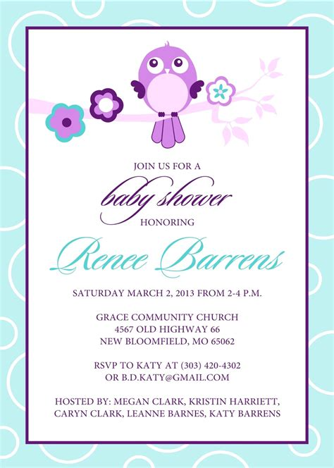 free baby shower templates baby shower template word mughals
