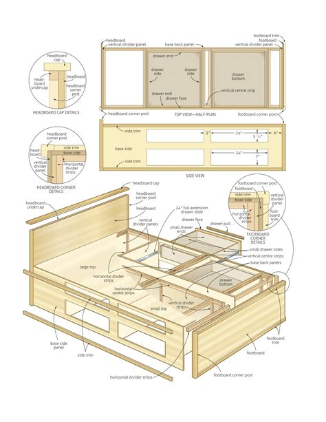 queen platform bed plans queen size platform bed plans build a bed with storage