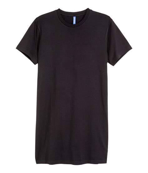 H M Tshirt by H M T Shirt In Black For Lyst