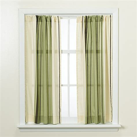 Green Bathroom Window Curtains West End Green 32 Quot X 45 Quot Window Curtain Bed Bath Beyond