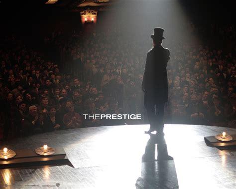 the prestige a magicians irony black tie productions