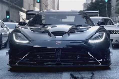 themes black viper dodge viper acr jumps on star wars bandwagon in new tv