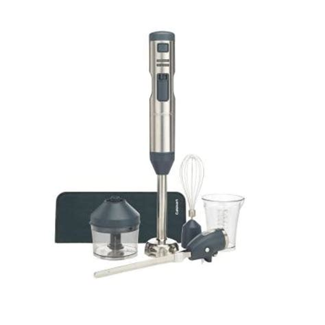 Blender Rechargeable Portabel cuisinart smart stick variable speed cordless rechargeable blender with electric knife in