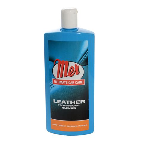 Leather Upholstery Cleaner by Mer 500ml Professional Car Interior Leather Upholstery