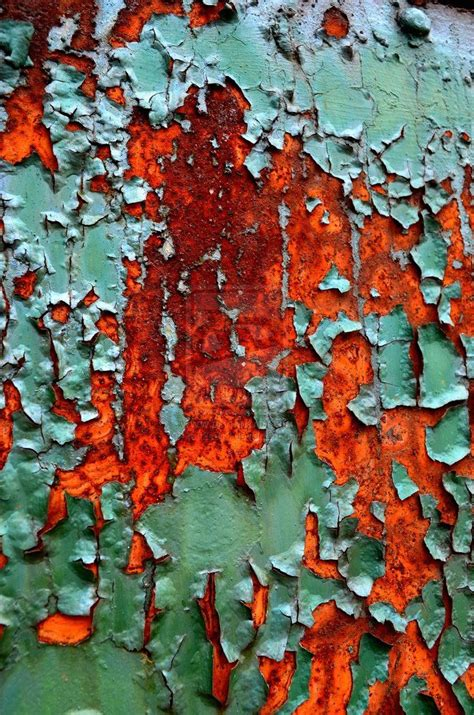 peeling paint textile pattern print pinterest rusted