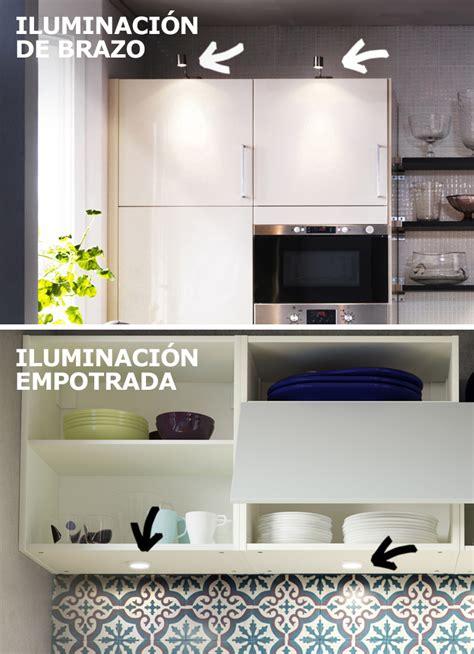 iluminacion armarios ikea curso iluminar correctamente la cocina ikea