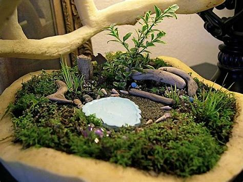 How To Create Miniature Gardens Miniature Gardens Ideas