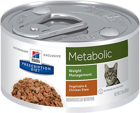 weight management canned cat food hill s prescription diet metabolic weight management