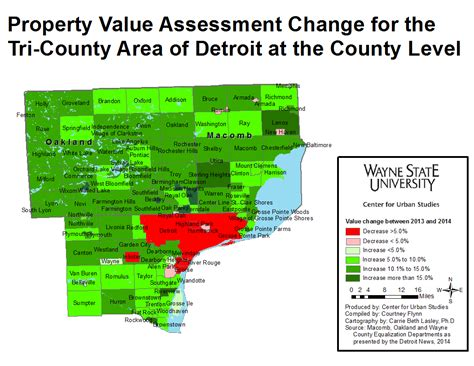 property values increase throughout wayne and neighboring