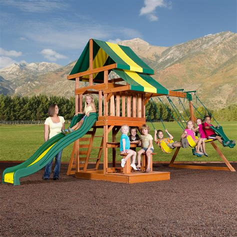 Backyard Discovery Independence Swing Set by Backyard Discovery Swing Sets Walmart Deals Backyard