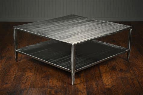 brushed steel coffee table brushed steel caroline coffee table mecox gardens