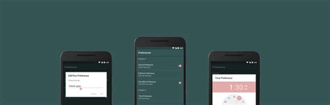 android preference building an android settings screen part 1 jakob ulbrich medium