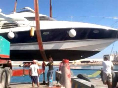u boat manhattan sunseeker manhattan 48 boat lift youtube