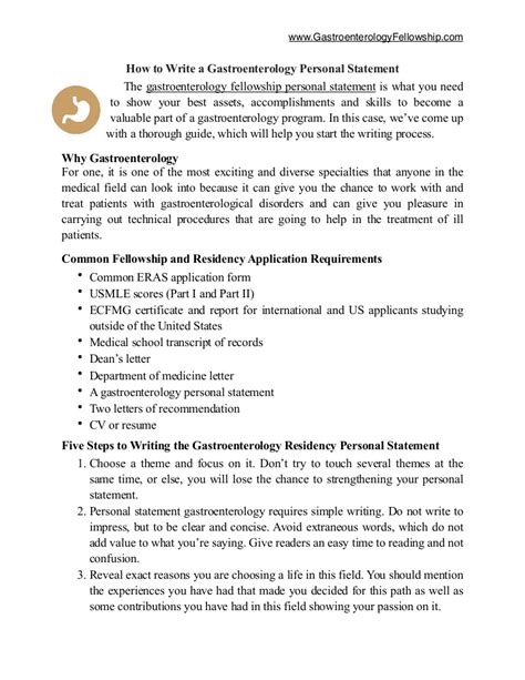 resume template excellent examples of personal statements for