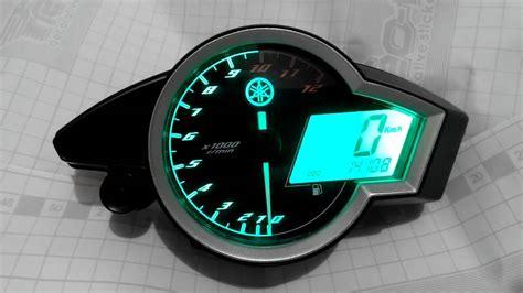 Speedometer Vixion custom backlight speedometer yamaha new vixion
