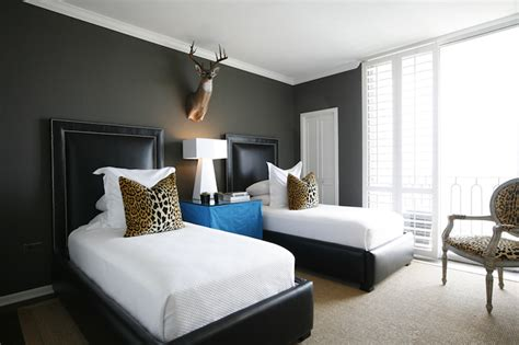 Leopard Pillows Contemporary Boy S Room Ashley