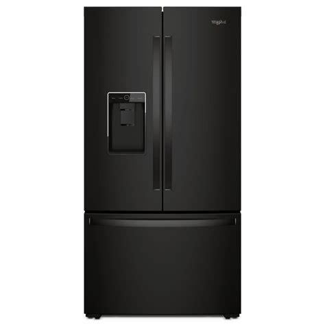 whirlpool counter depth refrigerator door whirlpool 36 in w 24 cu ft door refrigerator in