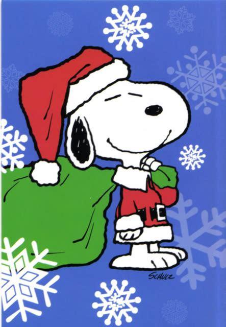 divertidas tarjetas navidenas  snoopy  compartir frases hoy