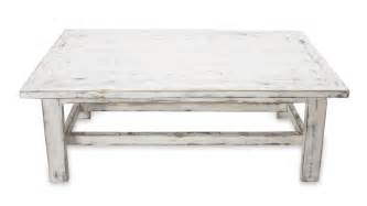 White Rustic Coffee Table Handcrafted Rustic White Wood Coffee Table Yahualica Cloud Novica