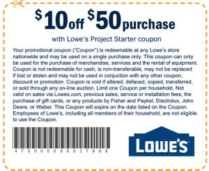 lowe s discount coupons printable coupons