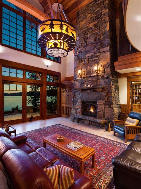 priest lake house mountain architects hendricks