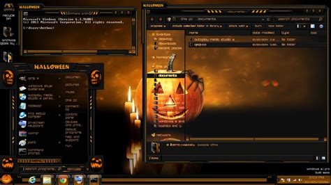free themes for windows 8 1 mobile windows 8 1 theme halloween by newthemes on deviantart