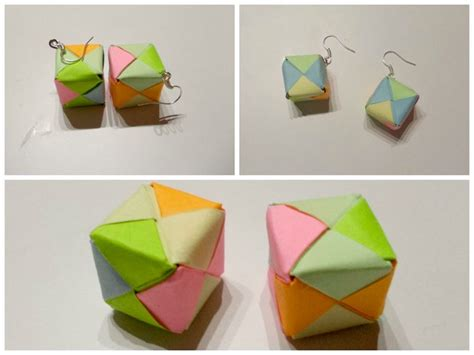 Origami Cube Ring - 17 best images about crafts on string