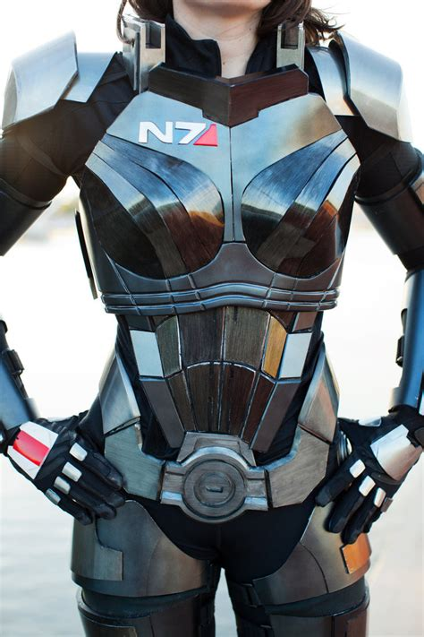 mass effect 3 n7 armor femshep by naughtyzoot on deviantart
