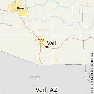 vail arizona map best places to live in vail arizona