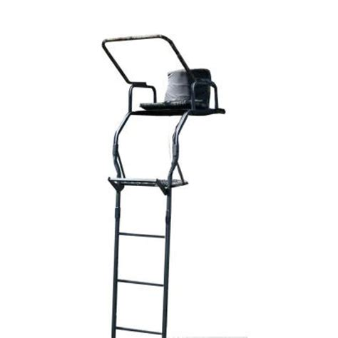 tree stand home depot buffalo outdoor 17 ft deluxe single seat deer