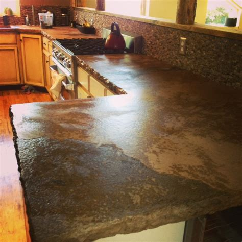 ireland west virginia concrete countertop installation