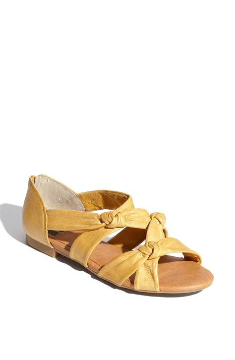 shoes bc bc footwear sleep the sandal in yellow mustard