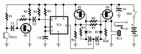 Saklar Tepuk skema rangkaian sakelar tepuk ic7555