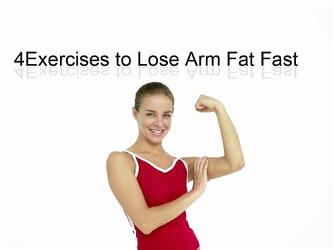 How To Shed Arm by Weight Loss Every Day 4 Exercises To Lose Arm Fast