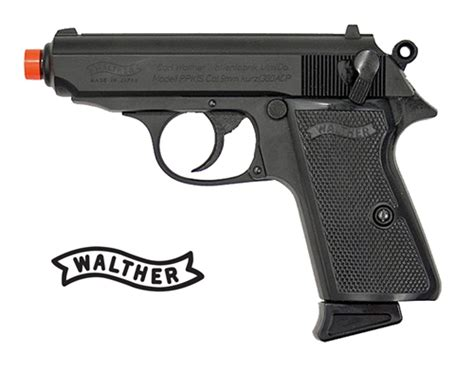 Jual Airsoft Gun Walther Ppk Maruzen Walther Ppk Airsoft Gas Blowback Pistol Licensed