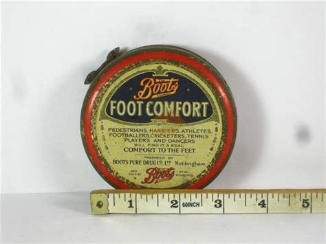foot comfort store old shop stuff old medical tin boots foot comfort for