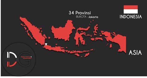flat design indonesia desain peta indonesia kumpul sehari