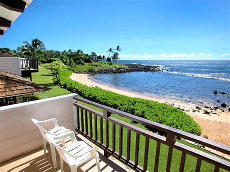 kauai cottage rentals poipu kauai beachfront cottage vacation rental hale o he