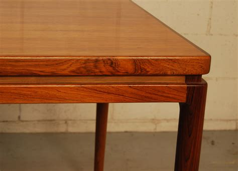 johannes andersen dining table sold johannes andersen rosewood dining table 30d005