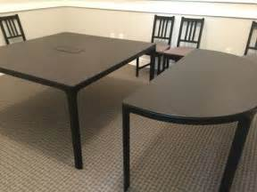 Ikea Conference Table And Chairs Ikea Bekant Conference Table W 8 Chairs For Sale In Atlanta Ga 5miles Buy And Sell