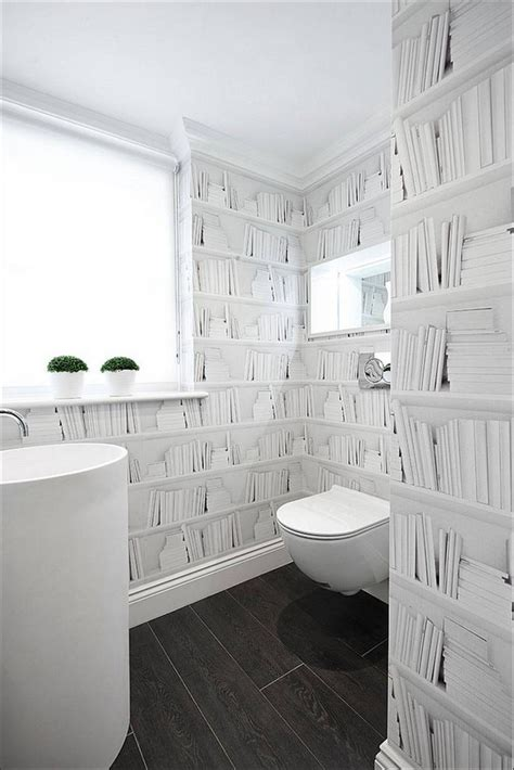 wallpaper in bathroom ideas gorgeous wallpaper ideas for your modern bathroom