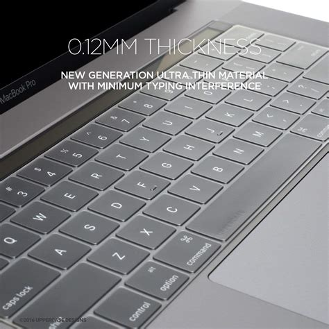 Keyboard Protector For Macbook Pro uppercase premium thin keyboard protector 2016 macbook pro