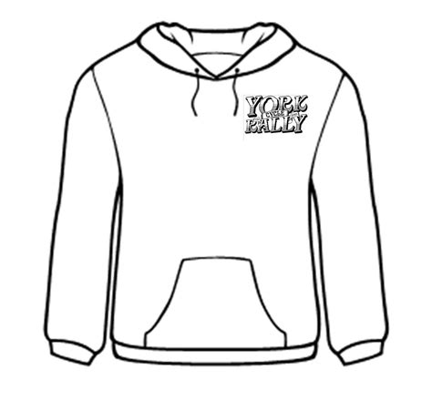 Hoodie Sweater Plagiat Front Logo york rally merchandise the york rally 24 25th june 2017