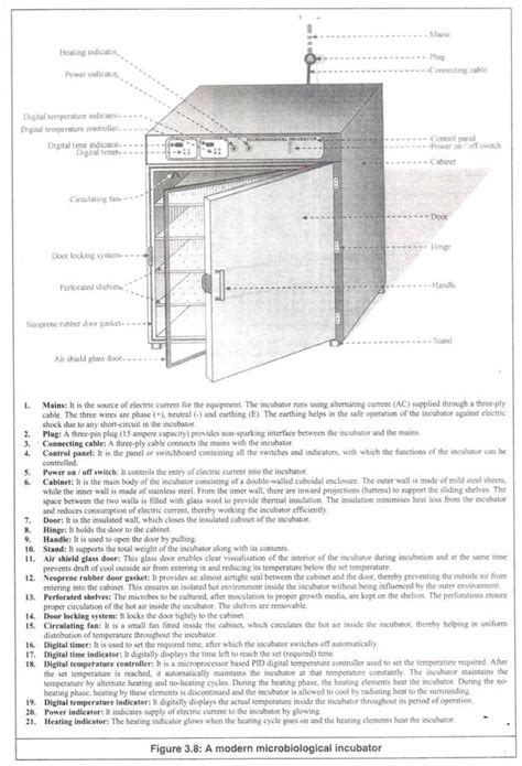 diagram of an incubator 29 equipment s every microbiology laboratory should