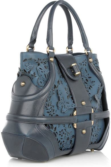 Mcqueens Floral Leather Novak mcqueen floral leather novak bag net a